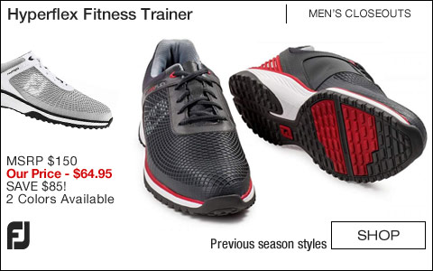 FJ Hyperflex Fitness Trainer Shoes - CLOSEOUTS
