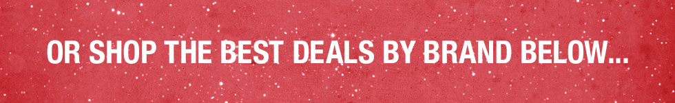 Shop Our Deals Guide By Brand