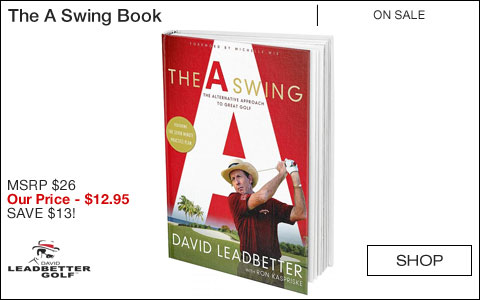 David Leadbetter The A Swing Book - ON SALE