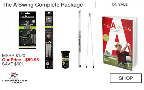David Leadbetter The A Swing Complete Package - Book and Training Aids - ON SALE