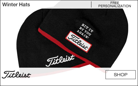 Titleist Winter Golf Hats - Free Personalization
