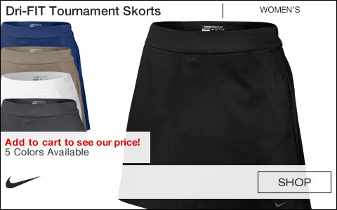 Nike Women's Dri-FIT Tournament Golf Skorts