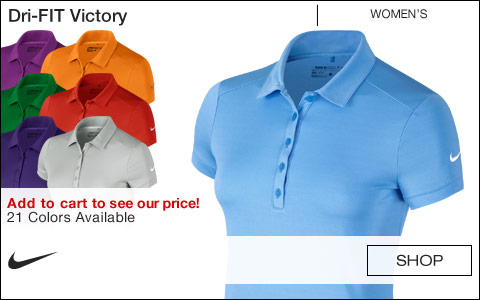 Nike Women's Dri-FIT Victory Golf Shirts