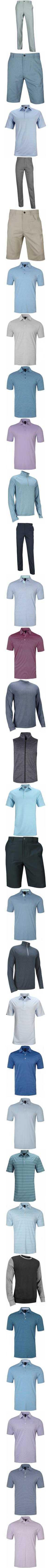15a4a722752 Dunning Heathered Tour Quarter-Zip Golf Pullovers - Lark Blue Heather