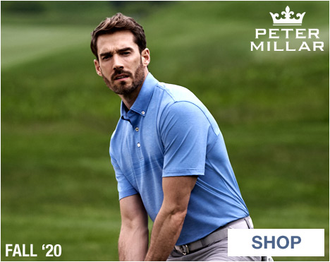 Peter Millar Apparel at Golf Locker