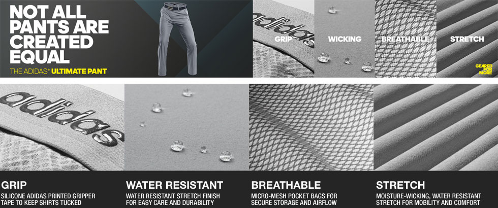 Adidas Ultimate Golf Pants