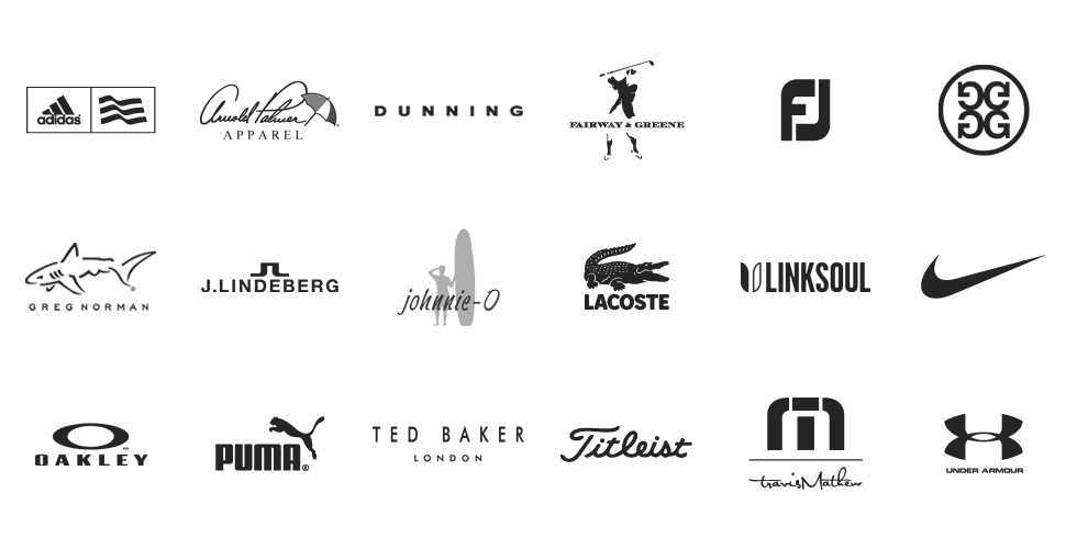 Golf Locker Custom - Add your logo to these brands and more.