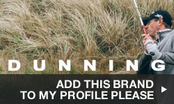 Click here to add Dunning to your My Golf Locker Profile