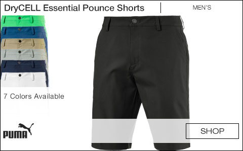 PUMA DryCELL Essential Pounce Golf Shorts