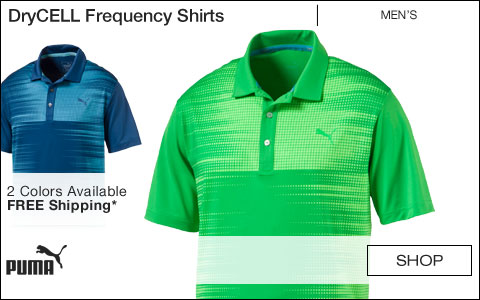 PUMA DryCELL Frequency Golf Shirts