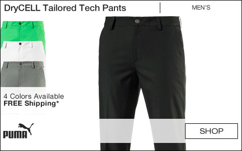 PUMA DryCELL Tailored Tech Golf Pants
