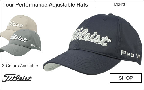 Titleist Tour Performance Adjustable Golf Hats