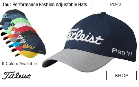 Titleist Tour Performance Fashion Adjustable Golf Hats