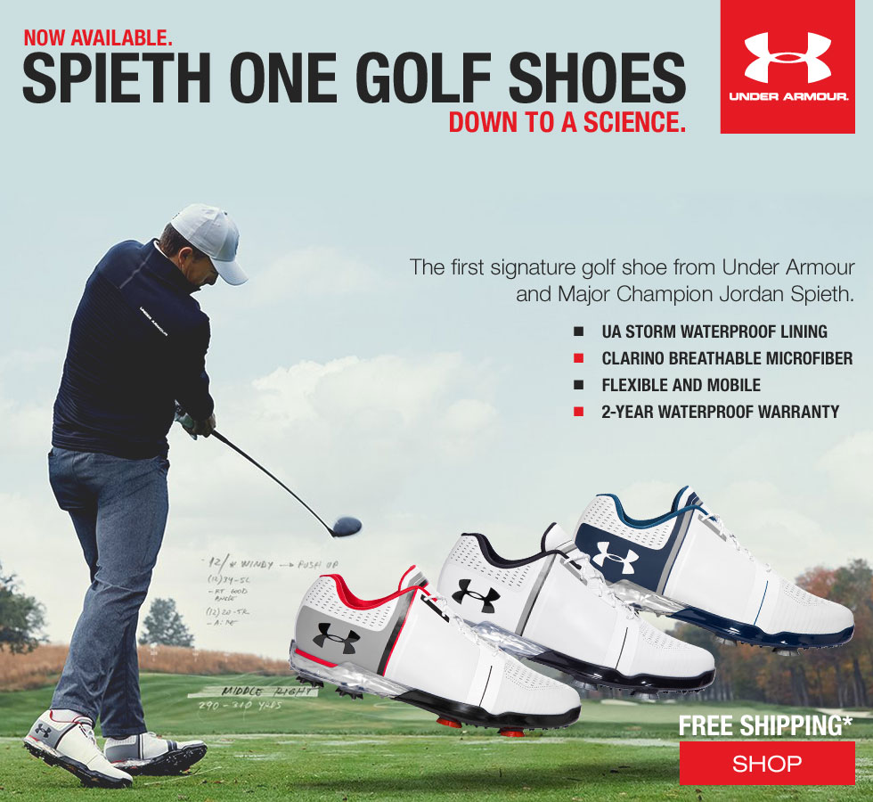 Under Armour 2017 Golf Shoes - Spieth One Just Arrived