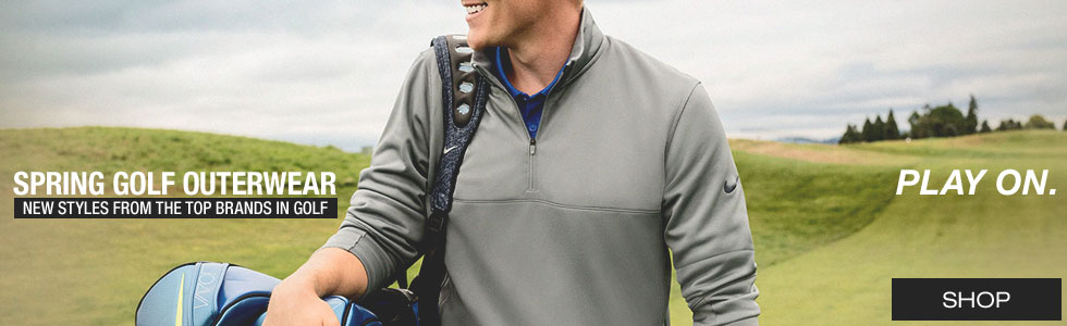 Spring Golf Outerwear
