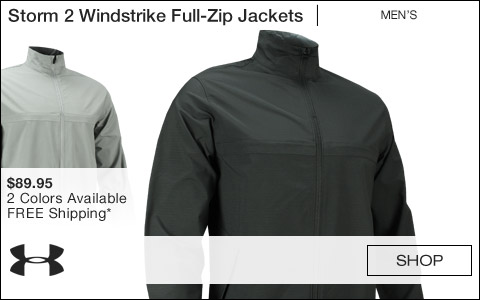 Under Armour Storm 2 Windstrike Full-Zip Golf Jackets