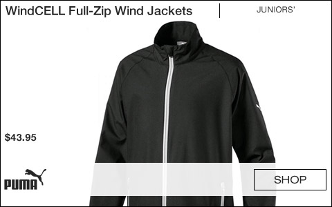 Puma WindCELL Full-Zip Junior Wind Jackets