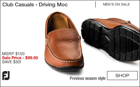 FJ Club Casuals Shoes - Driving Moc - ON SALE
