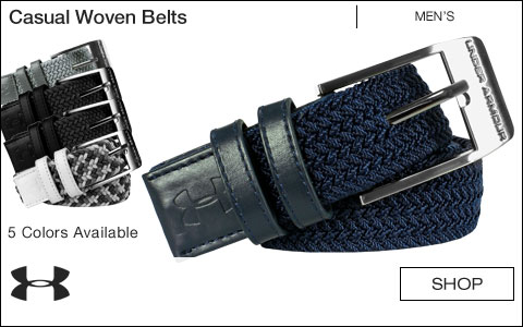 Under Armour Casual Woven Golf Belts