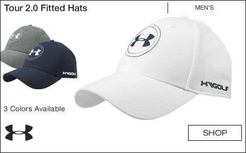 Under Armour Tour 2.0 Fitted Golf Hats