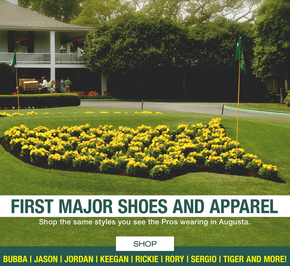 First Major Golf Shoes and Apparel Scripting