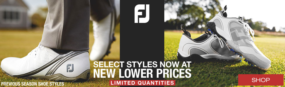 Select FJ Golf Shoes Now at New Lower Prices
