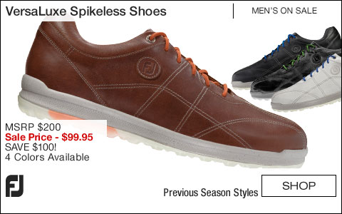 FJ VersaLuxe Spikeless Golf Shoes - ON SALE