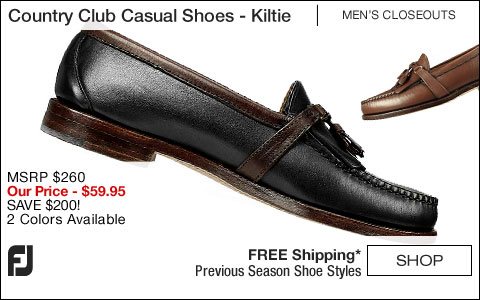 FJ Country Club Casual Shoes - Kiltie - CLOSEOUTS