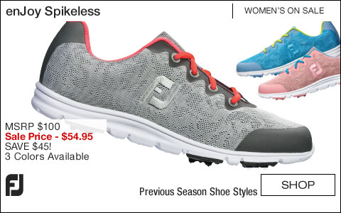FJ enJoy Women's Spikeless Golf Shoes - ON SALE