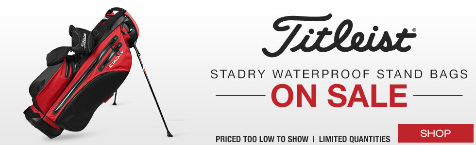 Titleist 	StaDry Waterproof Stand Golf Bags - ON SALE