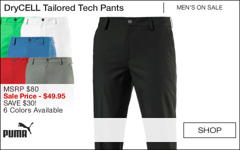 PUMA DryCELL Tailored Tech Golf Pants - ON SALE