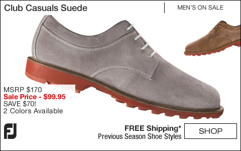 FJ Club Casuals Suede Shoes - ON SALE