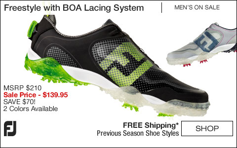 FJ Freestyle Golf Shoes with BOA Lacing System - ON SALE