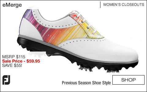 FJ eMerge Women's Golf Shoes - CLOSEOUTS
