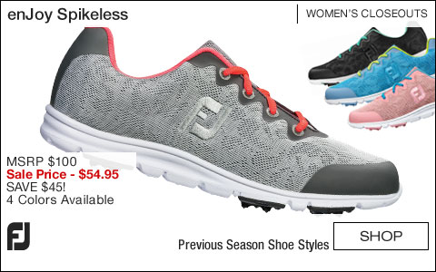 FJ enJoy Women's Spikeless Golf Shoes - CLOSEOUTS