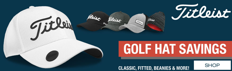 Titleist Golf Hats Savings