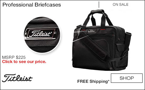 Titleist Professional Golf Briefcases - ON SALE
