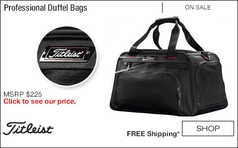 Titleist Professional Golf Duffel Bags - ON SALE