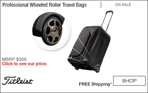 Titleist Professional Wheeled Roller Travel Bags - ON SALE