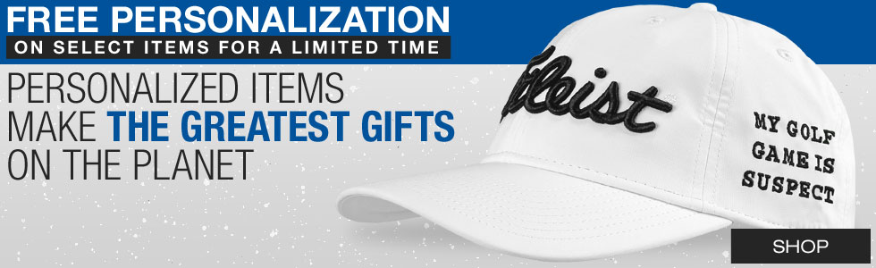Personalized Golf Gifts at Golf Locker - Golf hats, towels, shoe bags and more!