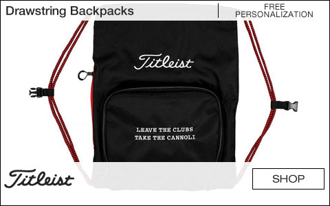 Titleist Golf Drawstring Backpacks