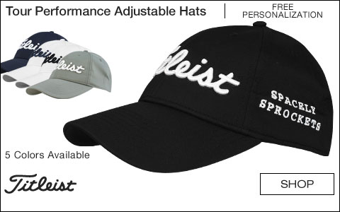 Titleist Tour Performance Solid Adjustable Custom Golf Hats