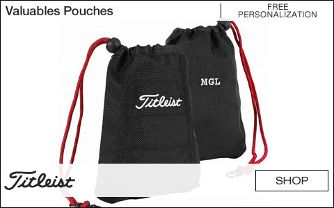 Titleist Valuables Pouches - Free Personalization