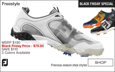 FJ Freestyle Golf Shoes - CLOSEOUTS - BLACK FRIDAY SPECIAL