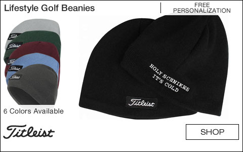 Titleist Lifestyle Golf Beanies - Free Personalization