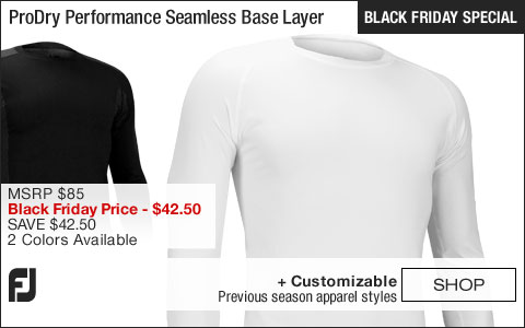 FJ ProDry Performance Seamless Base Layer Golf Shirts - BLACK FRIDAY SPECIAL