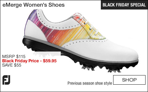 FJ eMerge Women's Golf Shoes - CLOSEOUTS - BLACK FRIDAY SPECIAL