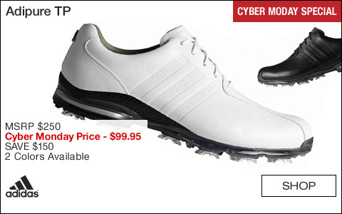 Adidas Adipure TP Golf Shoes - CYBER MONDAY SPECIAL
