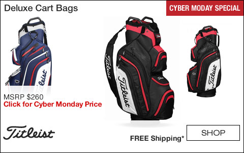 Titleist Deluxe Cart Golf Bags - CYBER MONDAY SPECIAL
