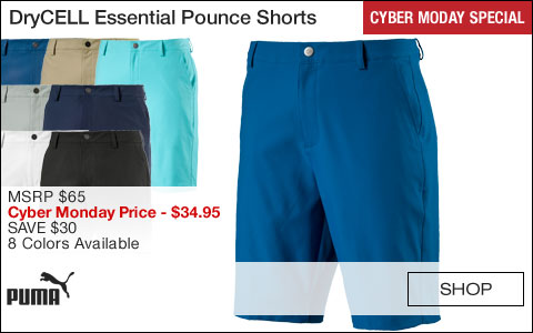 PUMA DryCELL Essential Pounce Golf Shorts - CYBER MONDAY SPECIAL